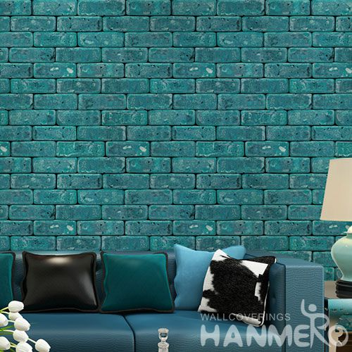 HANMERO New Arrival Strippable 3D Stone Wall Wallpaper Modern Style for Livingroom Decoration from Chinese Vendor