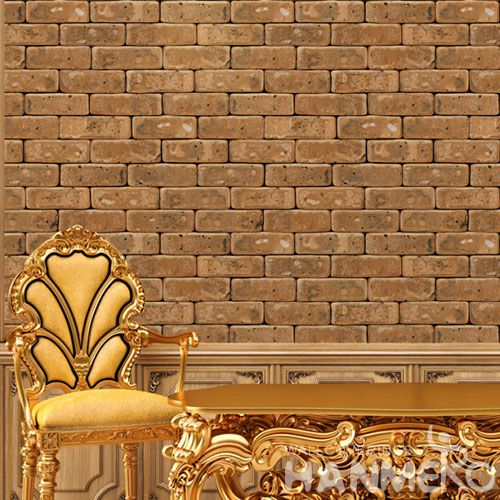 HANMERO 3D Interior Room Decor Faux Stone Wallcovering Wallpaper PVC High Quality for Living Room Kids Bedroom