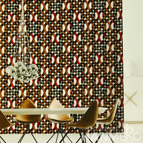 HANMERO Interior TV Background Wallcovering PVC Stylish Wallpaper Natural Material from Chinese Factory Competitive Prices