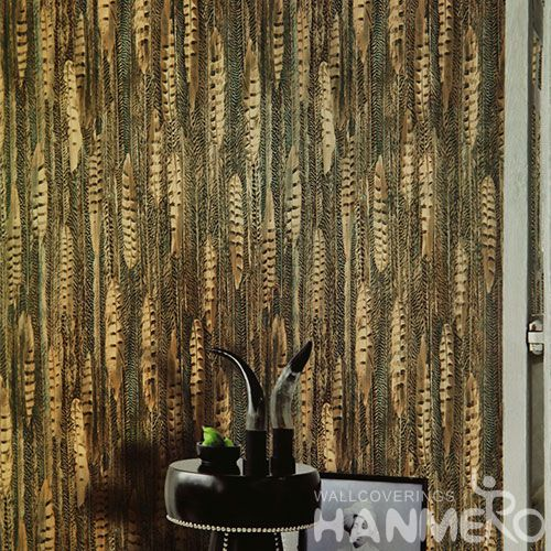 HANMERO PVC Modern Style House Home Wallpaper Best Prices from Chinese Wallcovering Dealer for Bedroom Study Room