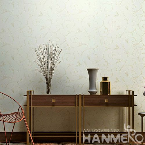 HANMERO Decorative Interior Wallcovering Manufacturer 0.53 * 10M PVC Wallpaper Wholesale Trader China Chinese