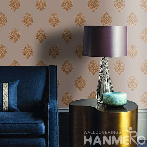 HANMERO Professional Home Fancy Wallcovering PVC Wallpaper 0.53 * 10M for Study Room Wall from China Chinese