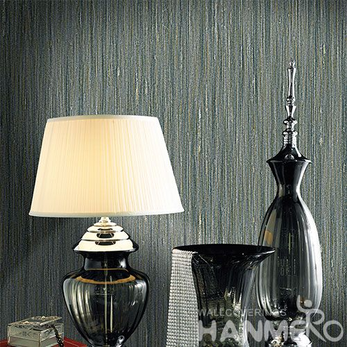 HANMERO Chinese Eco-friendly 0.53 * 10M PVC Wallpaper Modern Simple Style with Exclusive Embossed Technology On Sale