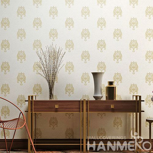 HANMERO Modern Simple PVC Wallpaper 0.53 * 10M Nature Texture for Lounge Rooms Decor Chinese Wallcovering Supplier