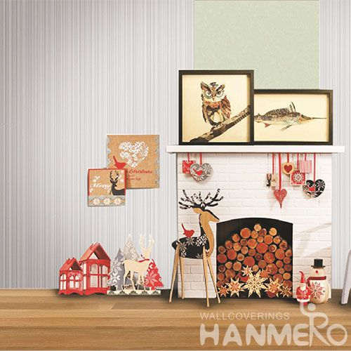 HANMERO Modern Simple Design PVC Wallpaper 0.53 * 10M for Room Decoration from China Factory Wallcovering Supplier