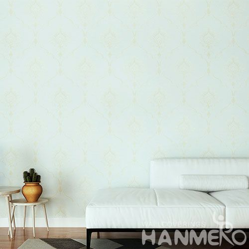 HANMERO Household Living Room Embossed PVC Wallpaper 0.53 * 10M Best Selling Wallcovering Chinese Factory Eurpean Style