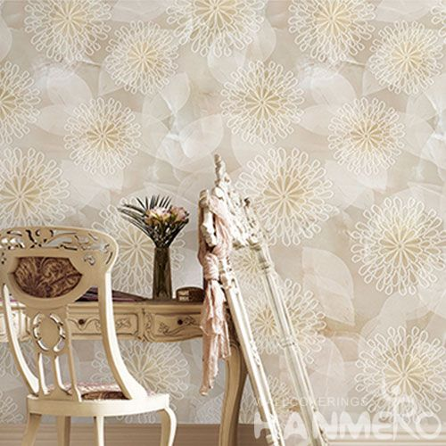HANMERO New High-end Elegant Wallpaper Decorative Removable Wallcovering for Wall Manufacturer Designer from China