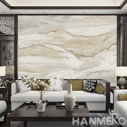 HANMERO Newest Crystal Stone Wallpaper Non-woven Cheap Prices Wallcovering Interior Wall Design from Chinese Dealer