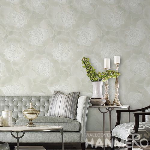 HANMERO Bathroom Kitchen Luxury Vintage Flowers Wallpaper Distributor Offered by Professional Wallcovering Manufacturer