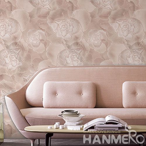 HANMERO Interior Bathroom Decoration Fancy Floral Wallpaper Wholesale Trader from China Factory Sell Directly
