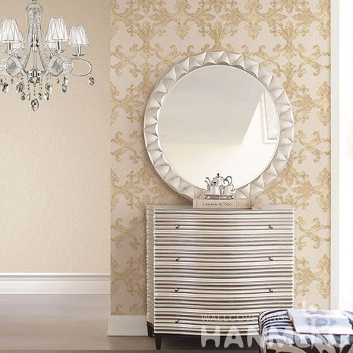 HANMERO Buy Modern Beautiful Patterns Wallpaper PVC 1.06M Room Decor Wallcovering Wholesaler with Competitive Prices High Quality