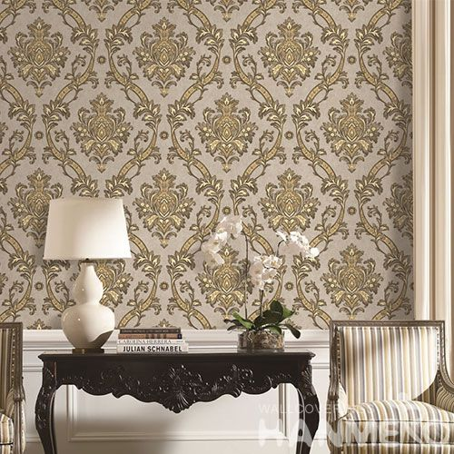 HANMERO Modern Simple Style 1.06M PVC Korea Design Wallpaper Household Room Decorative Wallcovering for Wholesale Prices