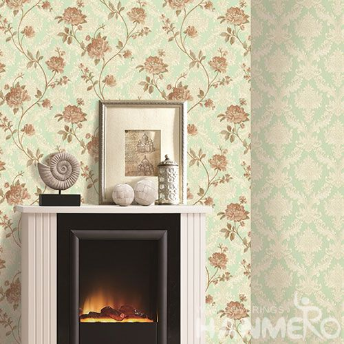 HANMERO Eco-friendly Durable Kitchen Bathroom Wallpaper PVC 1.06M Factory Sell Directlly Chinese Wallcovering Distributor