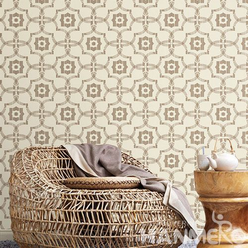 HANMERO Latest European Modern 0.53 * 10M Non-woven Wallpaper Chinese Wallcovering Manufacturer Kitchen Living Room Decoration