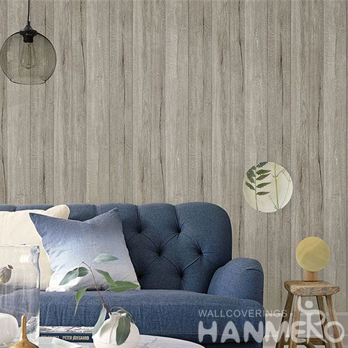 HANMERO Professional Home Wallcovering Wood Design Non-woven  0.53 * 10M Wallpaper for Interior Household Wall