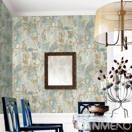 HANMERO Economical Eco-friendly Simple Design Wallpaper Non-woven 0.53 * 10M Natural Sense for Home Desinger in Modern Style On Sale