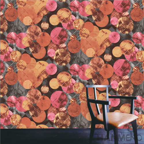 HANMERO PVC TV Background Geometric Deep Embossed Modern Removable 0.53*10M purchase wallpaper