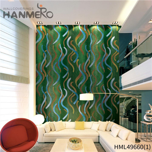 HANMERO 0.53*10M Professional Geometric Bronzing Pastoral Living Room PVC purchase wallpaper