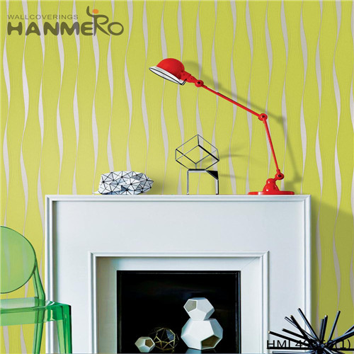 HANMERO PVC Professional 0.53*10M Bronzing Pastoral Living Room Geometric amazing wallpapers for walls