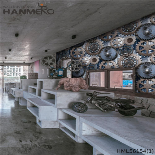 HANMERO PVC Exported where to buy wallpaper Technology European Photo studio 0.53*10M Landscape