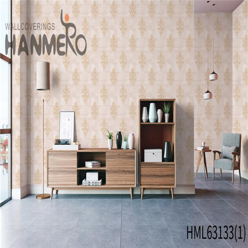 HANMERO PVC Exporter Bamboo Deep Embossed Pastoral Household 0.53*10M wallpaper buy online