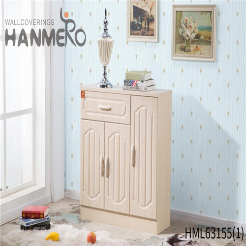 HANMERO PVC Exporter Bamboo wallpapers for walls at home Pastoral Household 0.53*10M Deep Embossed