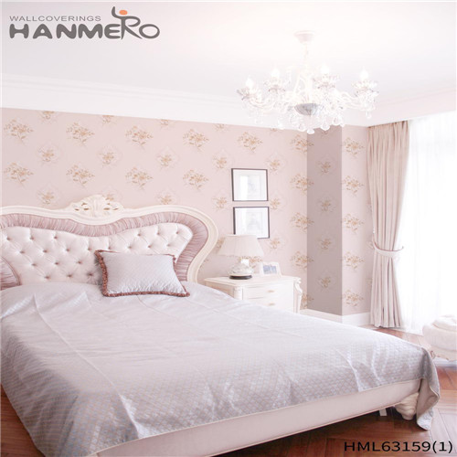 HANMERO PVC Exporter Bamboo Deep Embossed wallpaper direct Household 0.53*10M Pastoral
