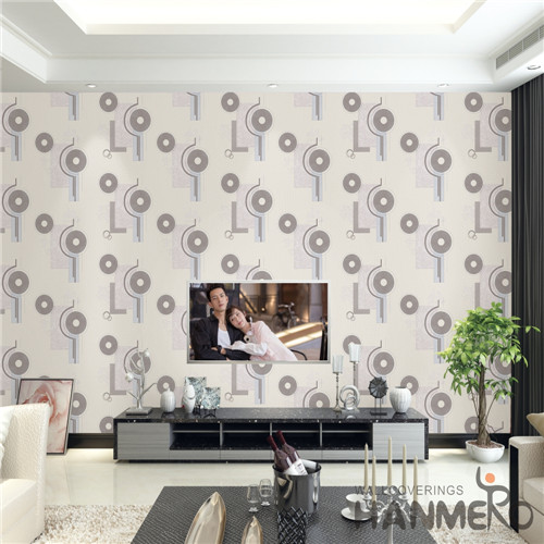 HANMERO PVC Professional Supplier Damask Deep Embossed Mediterranean wall murals online 0.53M Theatres