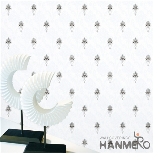 HANMERO PVC Professional Supplier Damask Deep Embossed 0.53M Theatres Mediterranean wallpaper unique designs