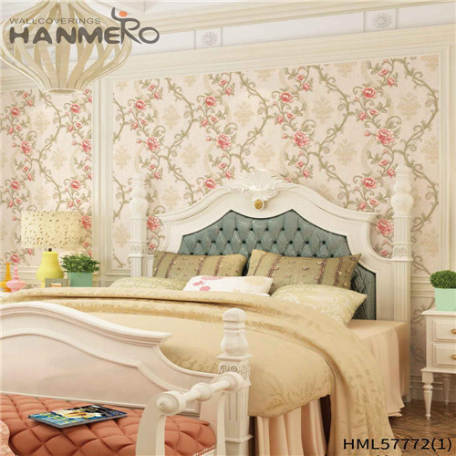 HANMERO 1.06*15.6M Hot Sex Flowers Deep Embossed Pastoral Household PVC unique home wallpaper