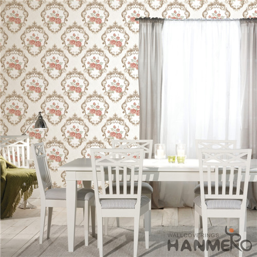 HANMERO PVC Specialized Flowers Technology Chinese Style wallpaper of home 0.53*10M Cinemas