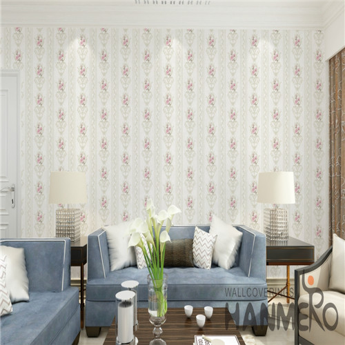 HANMERO 0.53*10M Specialized Flowers Technology Chinese Style Cinemas PVC designer home wallpaper