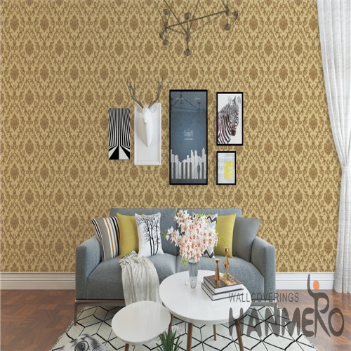 HANMERO PVC Specialized Flowers Technology Chinese Style 0.53*10M Cinemas wallpaper borders for sale