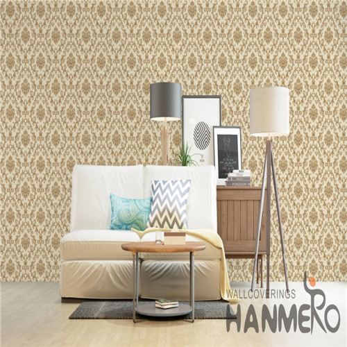 HANMERO Cinemas Specialized Flowers Technology Chinese Style PVC 0.53*10M textured wallpaper online