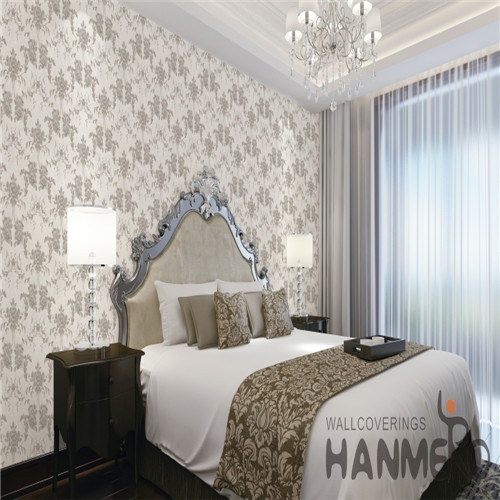 HANMERO Technology Specialized Flowers PVC Chinese Style Cinemas 0.53*10M wall paper store