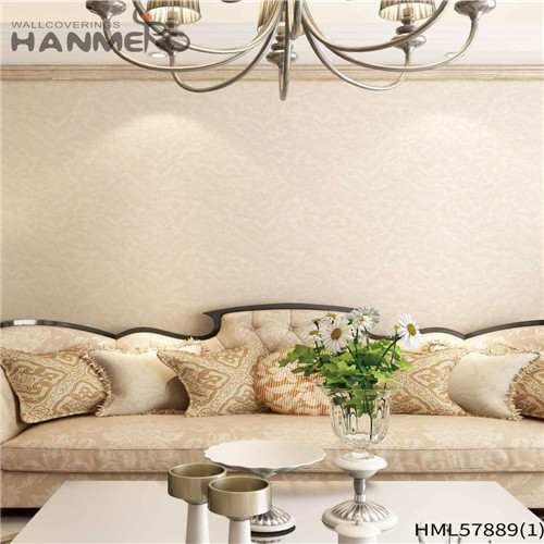 HANMERO PVC Decoration Floral Deep Embossed Pastoral House 1.06*15.6M wallpaper background