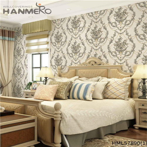 HANMERO wallpaper companies Decoration Floral Deep Embossed Pastoral House 1.06*15.6M PVC