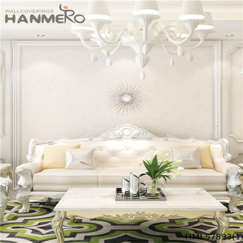 HANMERO PVC wallpaper of house Floral Deep Embossed Pastoral House 1.06*15.6M Decoration
