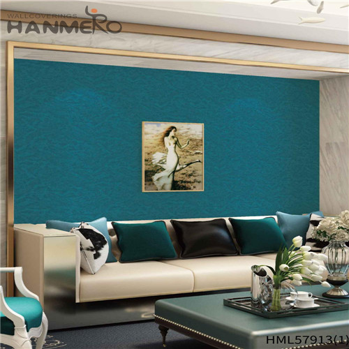 HANMERO PVC Decoration Floral Deep Embossed Pastoral design of wallpaper for wall 1.06*15.6M House