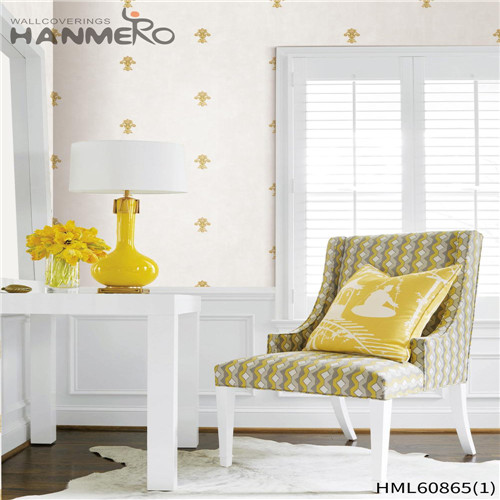 HANMERO PVC Seller Floral Flocking European 0.53M House imperial wallpaper