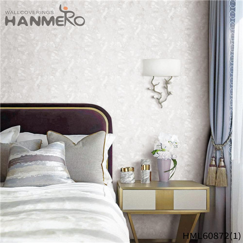 HANMERO PVC Seller House Flocking European Floral 0.53M home wallpaper patterns