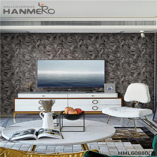 HANMERO PVC Seller Floral Flocking House European 0.53M home wallpaper price