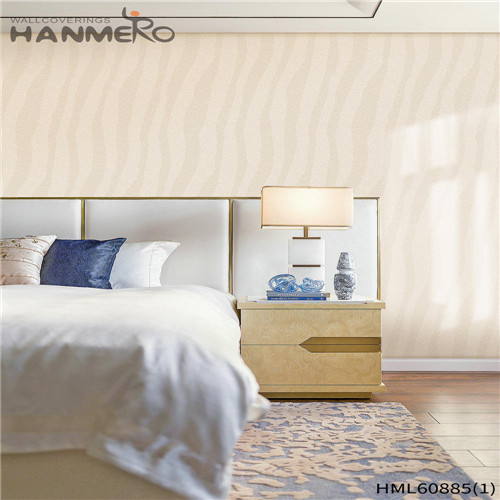 HANMERO PVC European Floral Flocking Seller House 0.53M most popular wallpaper for homes