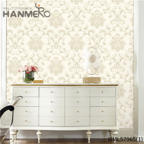 HANMERO where to buy wallpaper New Style Stripes Deep Embossed Pastoral Hallways 0.53*10M PVC
