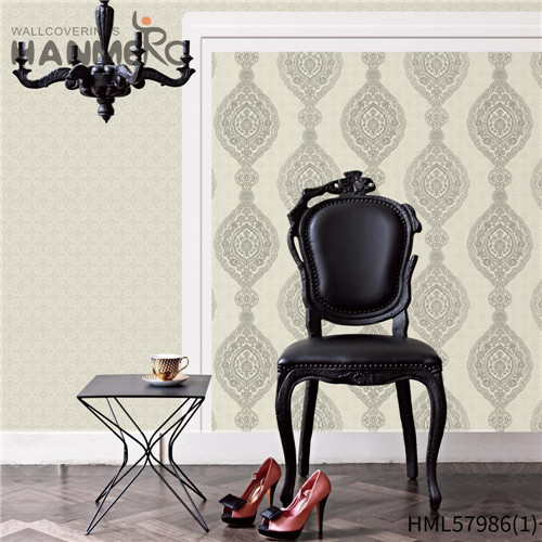 HANMERO PVC New Style Stripes Deep Embossed wallpaper in room walls Hallways 0.53*10M Pastoral