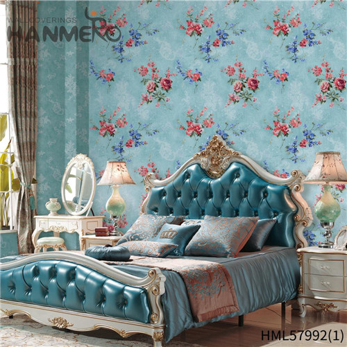 HANMERO PVC New Style Stripes Deep Embossed Pastoral local wallpaper shops 0.53*10M Hallways