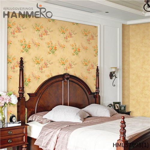 HANMERO PVC New Style Stripes Deep Embossed Pastoral Hallways wallpapwe 0.53*10M