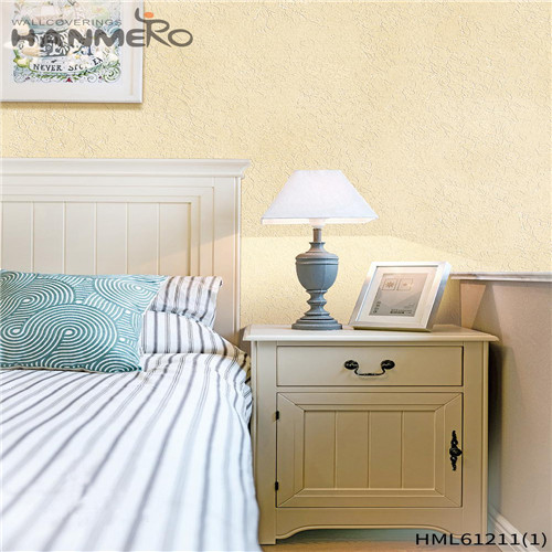 HANMERO PVC Professional Bamboo Flocking wallpaper for homes Theatres 0.53*10M Chinese Style