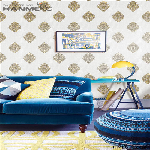 HANMERO PVC Professional Bamboo Flocking Chinese Style 0.53*10M Theatres the wallpaper store