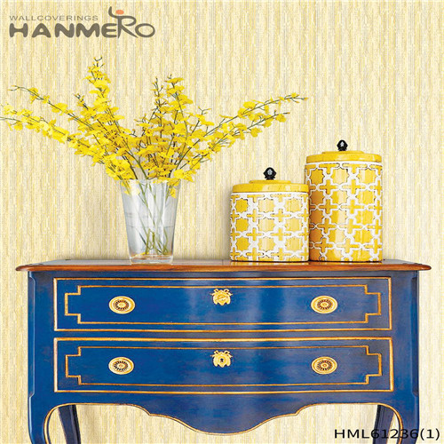 HANMERO PVC Professional Theatres Flocking Chinese Style Bamboo 0.53*10M designer wallpaper for home